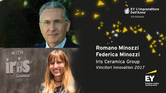 Iris Ceramica Group aux prix EY l'Entrepreneur de l'Année