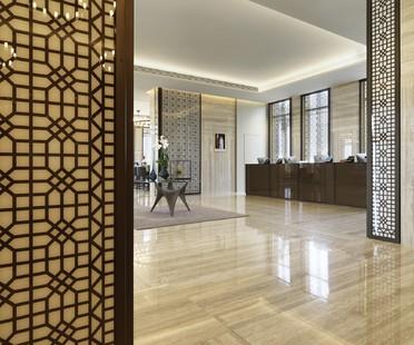 Matteo Nunziati et Fiandre pour le Fraser Suites de Doha au Qatar