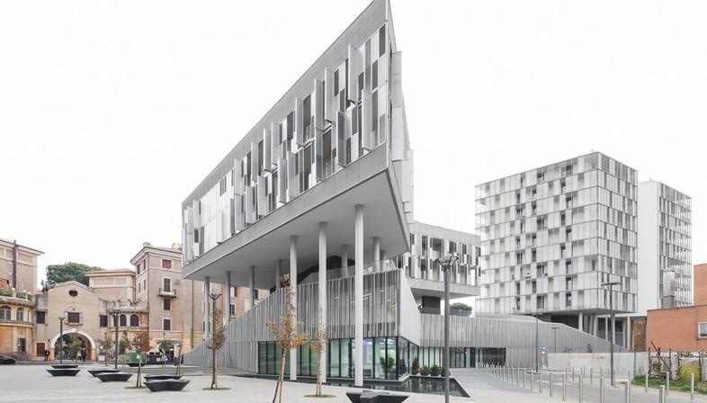Labics Città del Sole renouvellement urbain à Rome