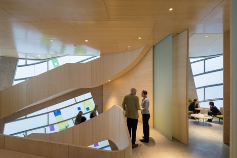 Steven Holl Architects Maggie's Centre Barts Londres