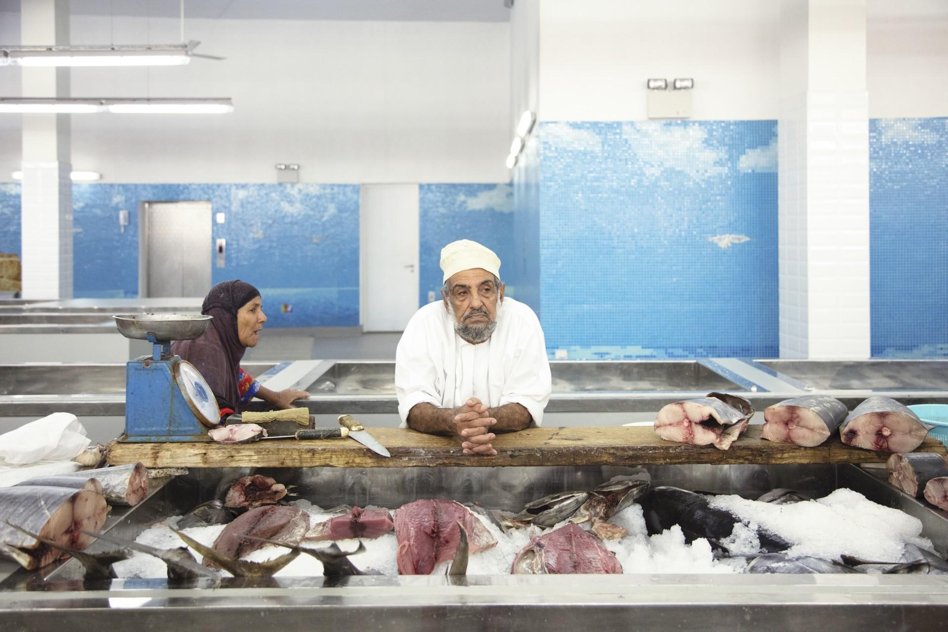 Snøhetta a achevé le marché aux poissons de Matrah (Oman)