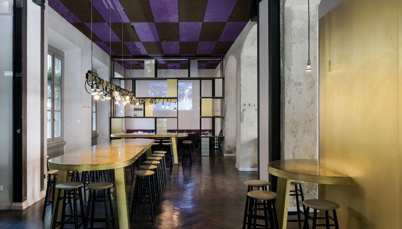 Vudafieri-Saverino Partners DRY Milano projet d'intérieur pour le Food & Beverage
