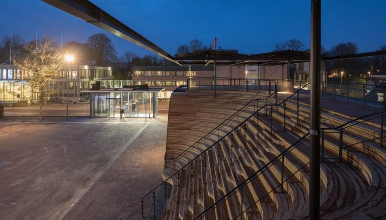 Powerhouse Company Pavillon Obe à Leeuwarden Capitale Européenne de la Culture 2018