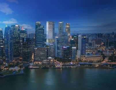 BIG et CRA Nature et Architecture dans le gratte-ciel Singapore Tower