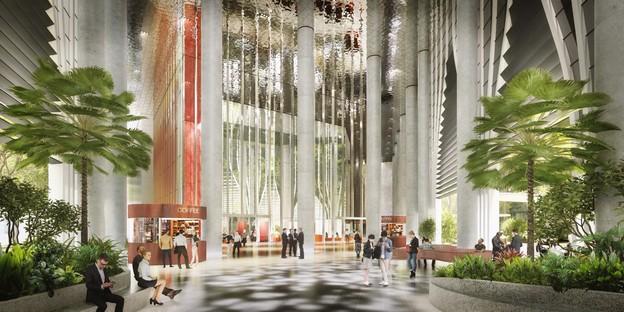 BIG et CRA Nature et Architecture dans le gratte-ciel Singapore Tower
