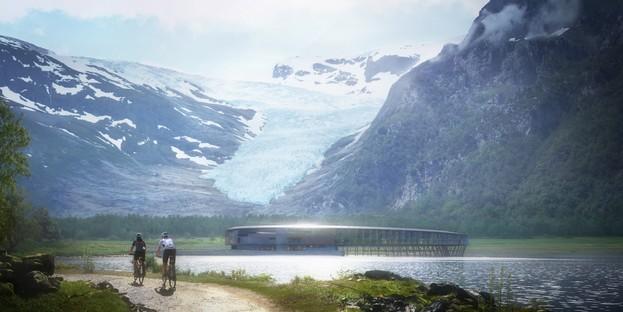 Snøhetta Svart premier hôtel à énergie positive au Cercle Polaire Arctique