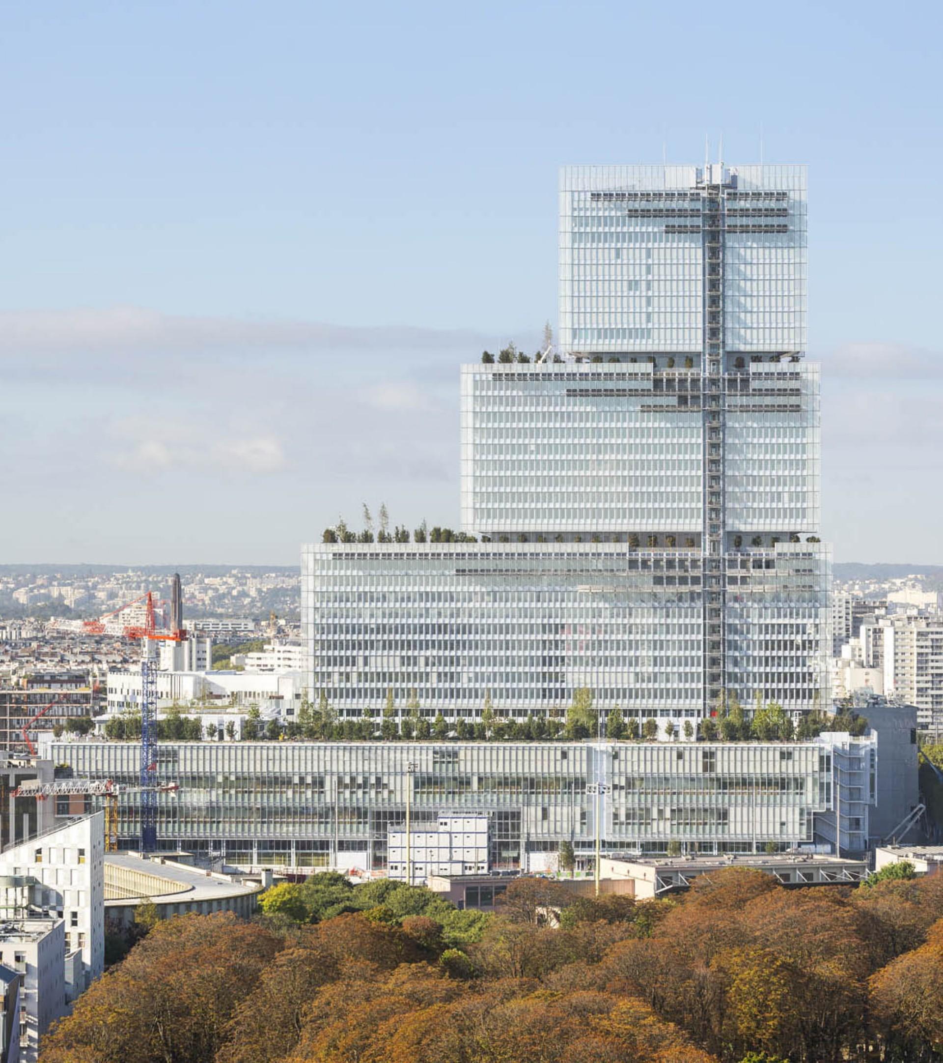 Renzo Piano Building Workshop Palais de Justice de Paris