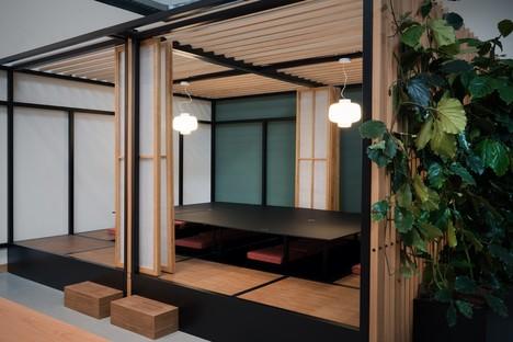Entre design d'intérieur et art, ambiance japonaise à Milan