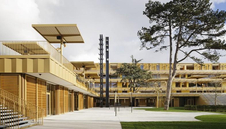 Dominique Perrault Architecte nouvel hippodrome Paris Longchamp