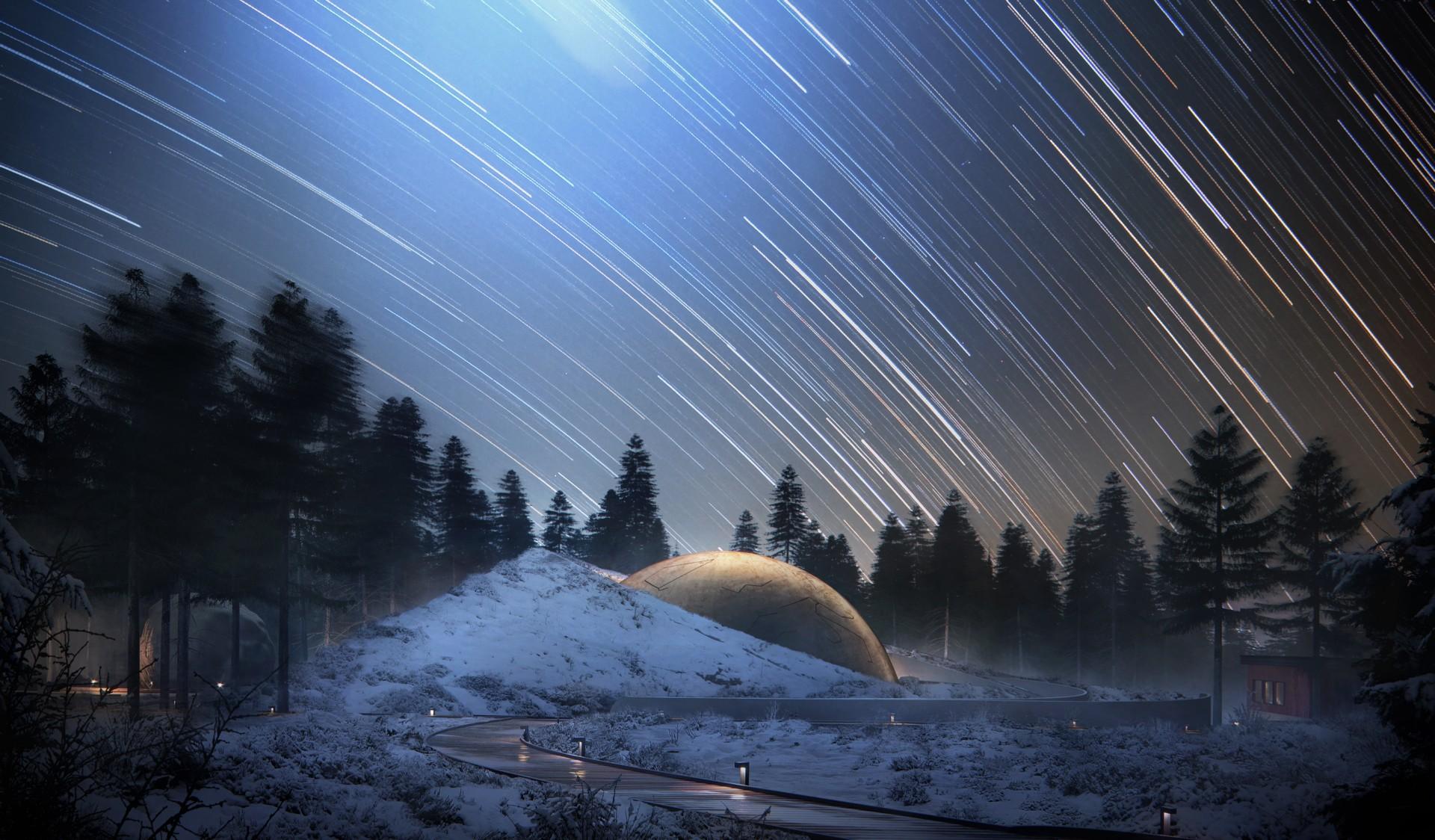 Snøhetta Planétarium et centre de visiteurs Solobservatoriet Norvège
