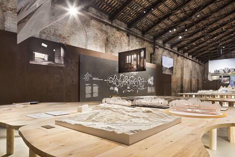 IRIS CERAMICA GROUP-SPONSOR TECHNIQUE DU PAVILLON ITALIEN LORS DE LA 16EXPOSITION INTERNATIONALED'ARCHITECTURE DE LA BIENNALE DE VENISE<br />