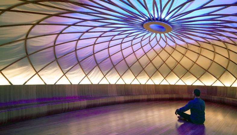 Archi-Tectonics Inscape espaces pour la méditation à New York