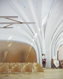 Zaha Hadid Architects Lushan Primary School entre la Chine et Milan