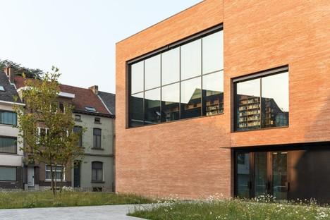KAAN Architecten Utopia Bibliothèque et Académie des arts du spectacle à Alost Belgique