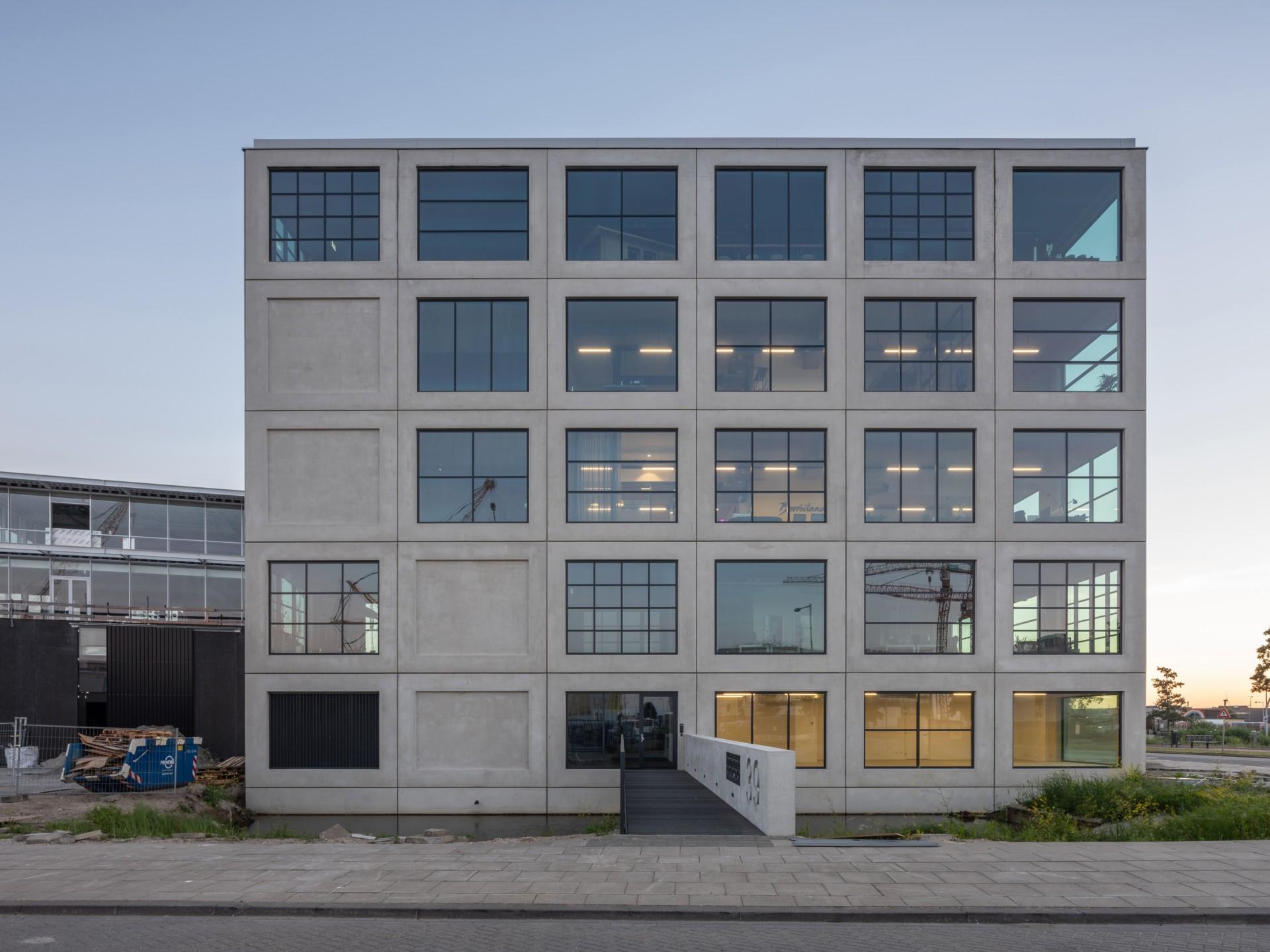 Mvrdv salt un immeuble de bureaux a amsterdam floornature