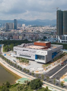 OPEN Architecture le Pingshan Performing Arts Center de Shenzhen