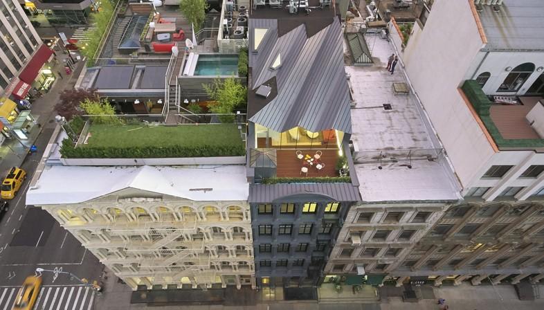WORKac The Stealth Building habiter sur les toits de New York