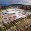 Nouveau stade du club Cagliari Calcio signé par Massimo Roj de Progetto CMR et Sportium