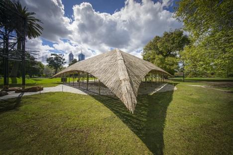 Cinquième édition MPavilion de la Naomi Milgrom Foundation Melbourne