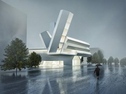 Steven Holl Architects Future Campus du Collège de l'Université de Dublin