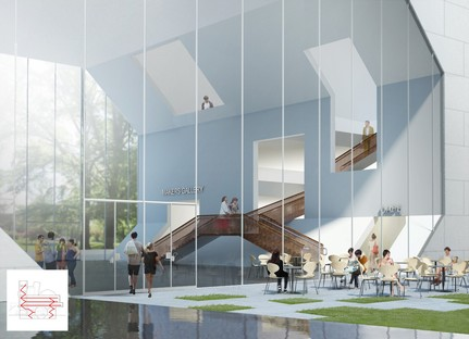 Steven Holl Architects Future Campus du Collège de l'Université de Dublin