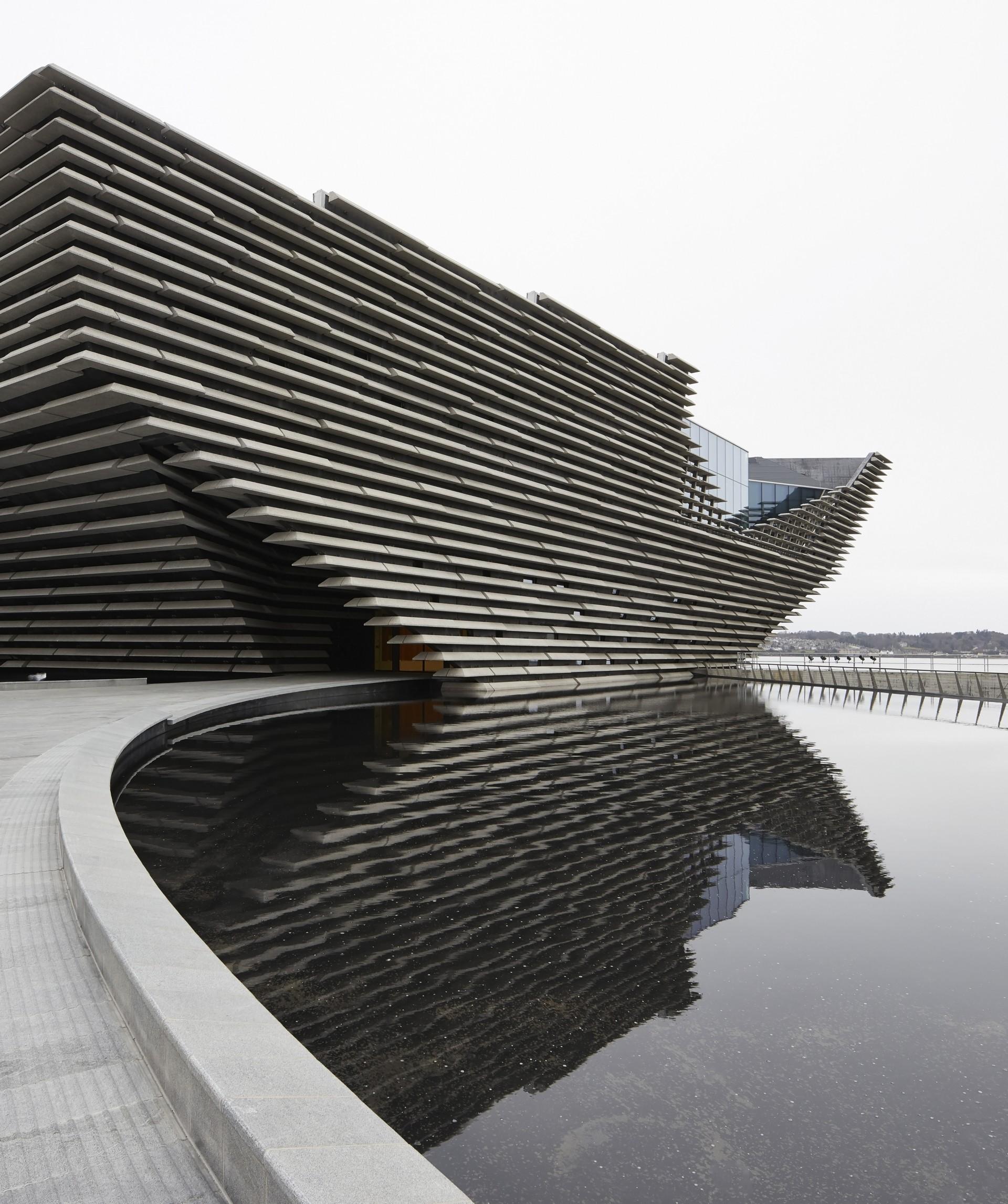 Kengo Kuma V&A Dundee Écosse