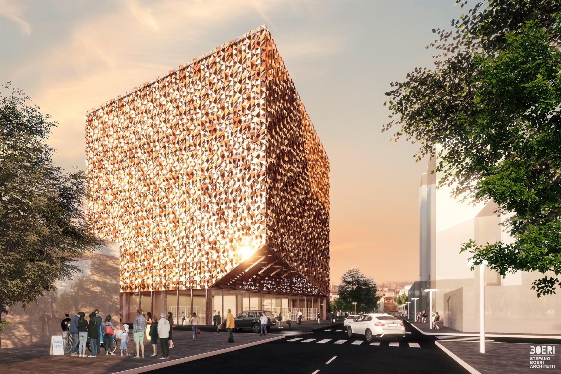 Stefano Boeri Architetti Premier Projet A Tirana Le Cube