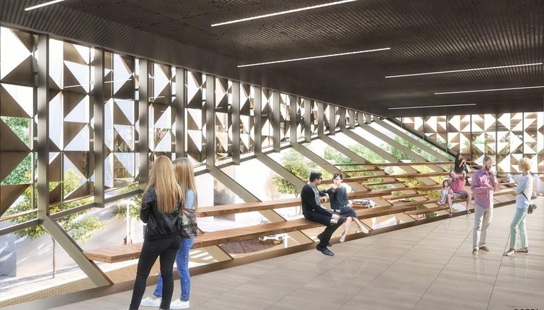 Stefano Boeri Architetti premier projet à Tirana - le Cube de Blloku