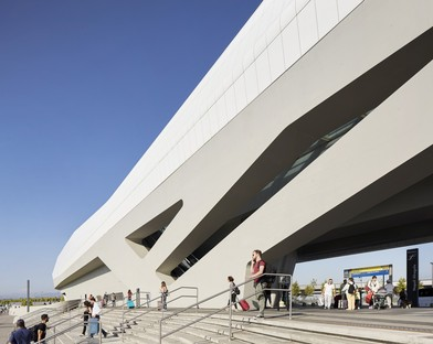 Zaha Hadid Architects High Speed Train Station Naples-Afragola