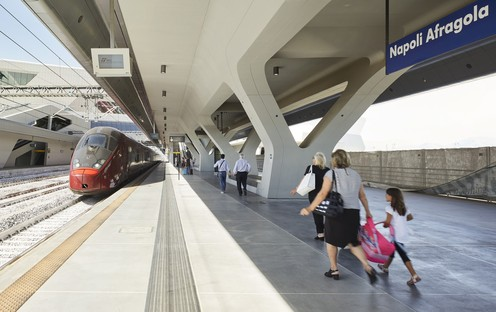 Zaha Hadid Architects High Speed Train Station Naples-Afragola