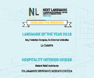 Les lauréats de Next Landmark 2018
