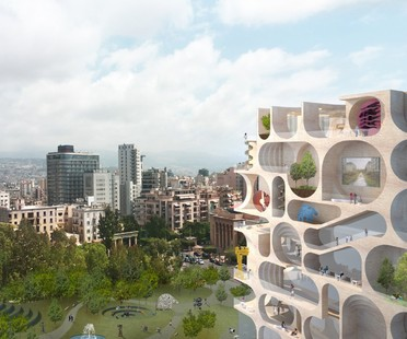 WORKac Beirut Museum of Art un musée ouvert pour Beyrouth