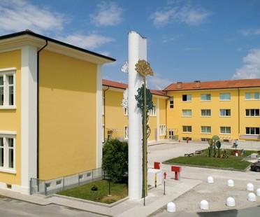 Fiandre et Zanutta SpA pour la Scuola Mosaicisti del Friuli