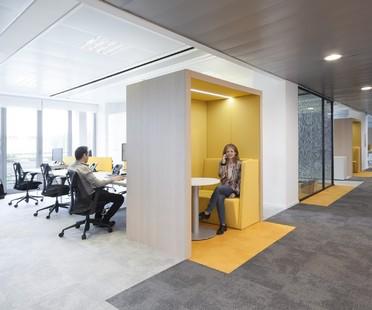 Progetto CMR – Massimo Roj Architects bureaux modernes à Milan