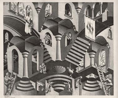 Exposition Escher au PAN Palais des Arts de Naples
