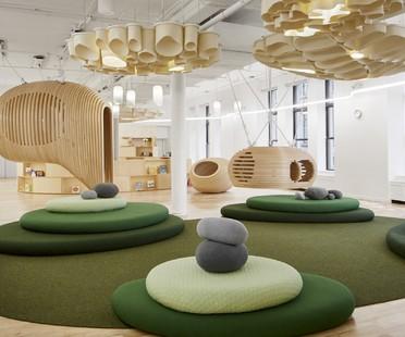 Architecture pour l'enfance la première école WeGrow de BIG