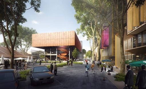 Le nouveau pôle financier et commercial de Shanghai imaginé par Ennead Architects
