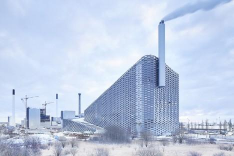 À Copenhague l'incinérateur du futur, un projet de BIG