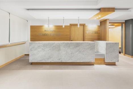 Studio Gemma et Alvisi Kirimoto un nouvel intérieur pour la Grande Salle de la LUISS