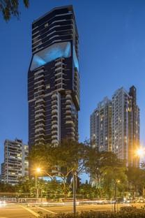 Singapour The Scotts Tower d'UNStudio achevée