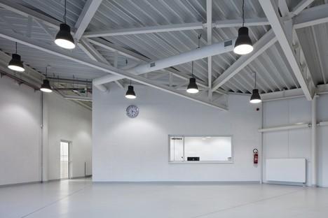 Cuboid Architekti City Sport Hall à Kuřim République tchèque