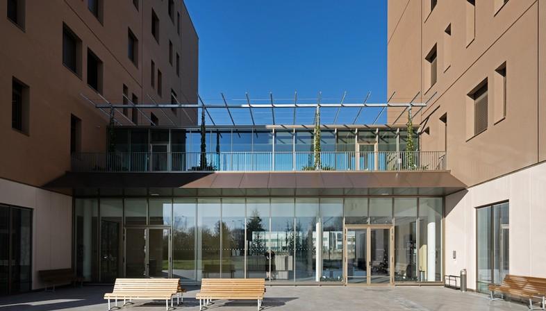 cabinet FTA Filippo Taidelli résidences universitaires du Campus Humanitas University Milan