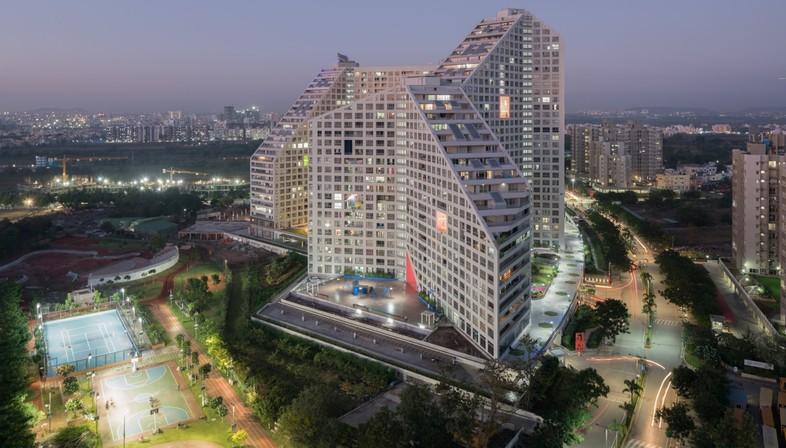 MVRDV Future Towers - Amanora Park Town Pune Inde