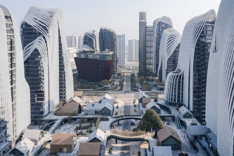 Le Nanjing Zendai Himalayas Center de MAD Architects bientôt achevé