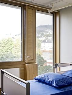 C.F. Møller Architects agrandissement du Haraldsplass Hospital Norvège