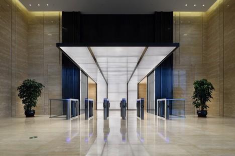 FXCollaborative une vague lumineuse pour le Fubon Fuzhou Financial Center