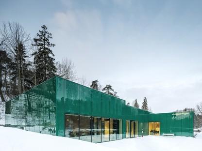 Wingårdh Arkitektkontor agrandissement Sundbyberg Cemetery Pavilion