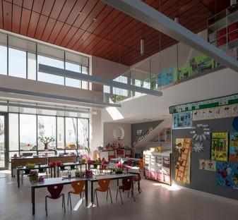 FXCollaborative : agrandissement et cafétéria de l'école BELS (Bilkent Erzurum Laboratory School) en Turquie