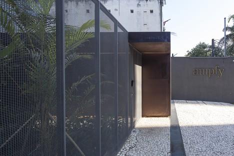 Reinach Mendonça Arquitetos et SuperLimão Studio pour Girassol Building São Paulo Brésil