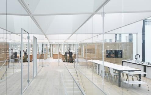 Le Swarovski Manufaktur, l'atelier de cristal, dessiné par Snøhetta est achevé